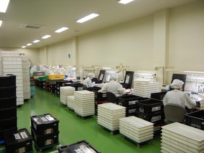 検査室製品検査風景